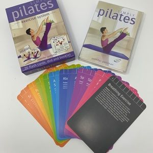 Other - Simply Pilates Exercise System 26 Cards DVD & Book